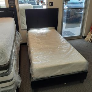 Memory Foam Twin Size Mattress & Bed Frame for Sale in Florissant, MO