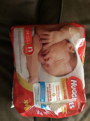 Huggies newborn diapers for Sale in Salt Lake City, UT
