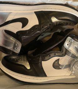Jordan 1 Silver Toe - Size 10.5 Women's for Sale in Falls Church,  VA
