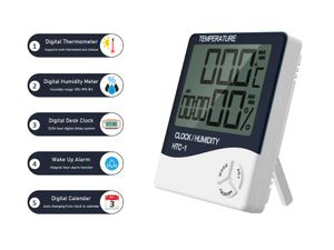 Digital Desk Clock with Thermometer 5in1 for Sale in Norfolk, VA
