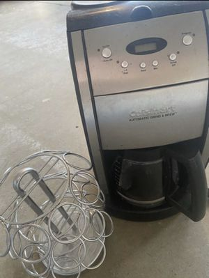 Coffee Maker and holder for Sale in Rialto, CA