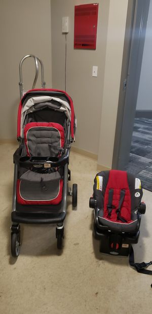 Graco travel system-stroller and infant car seat for Sale in Melrose, MA