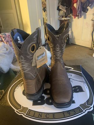 Georgia boots size 10 wide no steel toe for Sale in Inglewood, CA