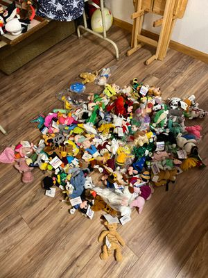 Beanie Baby Collection with tags - Disney and lots more $165.00 for Sale in Covington, WA