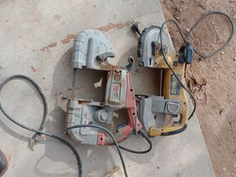 Dewalt And Milwaukee Band Saw for Sale in San Angelo,  TX