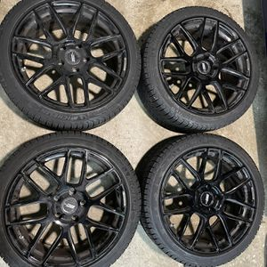 BMW Flow One Race Spec F2 wheels with Michelin X-Ice Snow Winter tires for Sale in Sterling, VA