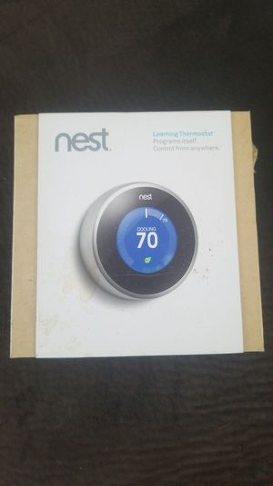 Nest learning thermostat for Sale in Atlantic City, NJ