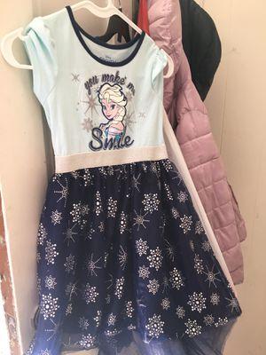 Disney Frozen Elsa Dress & Bag/Doll for Sale in North Providence, RI