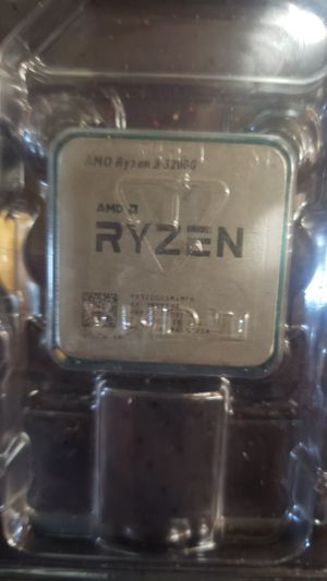 RYZEN 3 3200G CPU for Sale in Brownstown Charter Township, MI