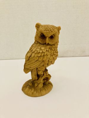 Vintage Cute Realistic Resin Owl Figurine Statue for Sale in Spring Hill, FL