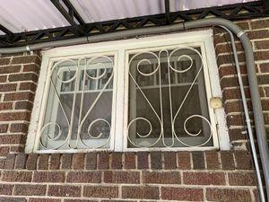 Antique white steel storm windows, full house worth for Sale in Denver, CO