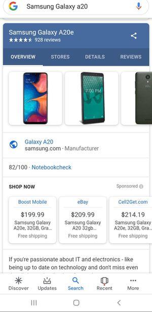 Samsung Galaxy A20 for Sale in Decatur, GA