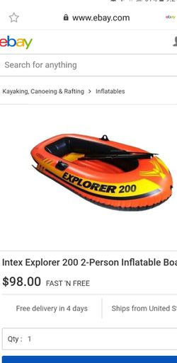 Inflatable boat for Sale in Woodbridge,  VA