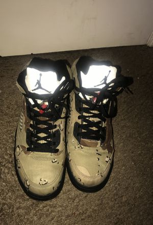 Air Jordan 5 supreme collab for Sale in Washington, DC