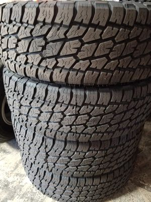 265 70 17 NITTO TERRA GRAPPLER NEW TIRES for Sale in Colton, CA