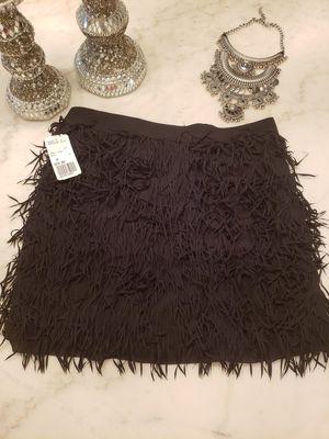 Forever21 Short fringe black skirt for Sale in College Park, GA