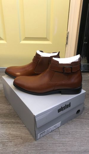 Kenneth Cole unlisted half tide cognac boots for Sale in Los Angeles, CA