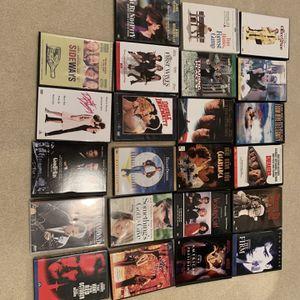 DVDs 0ver 60 Titles for Sale in Jamesburg, NJ