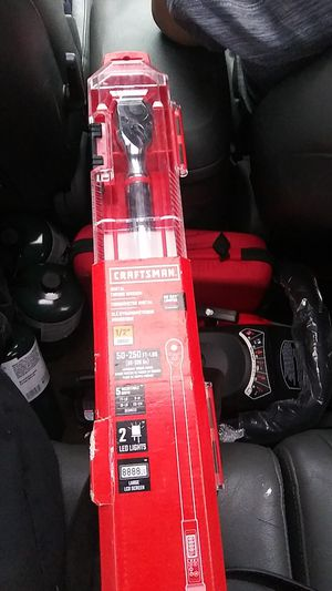 Craftsman digital torque wrench for Sale in Tacoma, WA