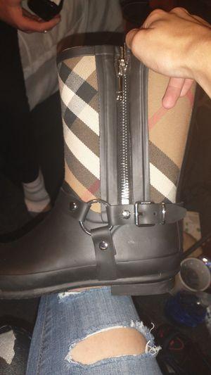 Burberry England rain boots for Sale in Oklahoma City, OK