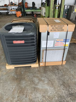 Ac unit set 3 tons installed NEW for Sale in Pembroke Pines, FL