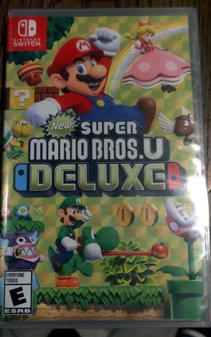 Nintendo switch Super Mario Bros U Deluxe brand new game for Sale in Paramount, CA
