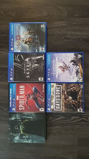PS4 games for Sale in Sammamish, WA
