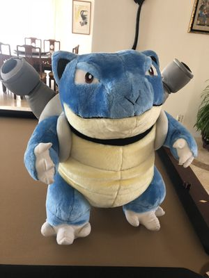 Rare Pokemon Blastoise Evolved Squirtle Plush 24 inch for Sale in West Hollywood, CA