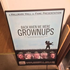 Framed Hallmark Movie Poster Back When We Were Grownups for Sale in Los Angeles, CA
