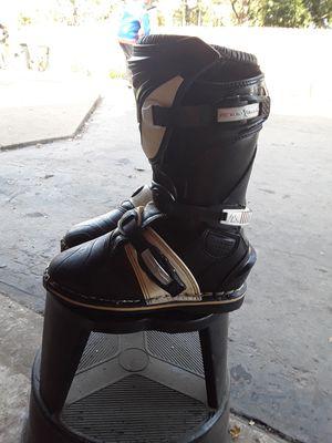 Quadrant dirt bike boots shoes for Sale in Elk Grove Village, IL