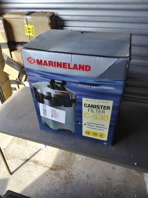 Brand new marineland c530 aquarium filter for Sale in Bakersfield, CA