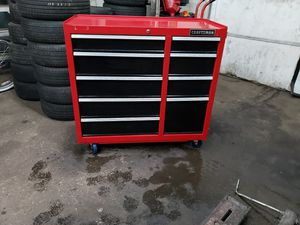 Craftsman 9 drawer box for sale with keys for Sale in Bethlehem, PA