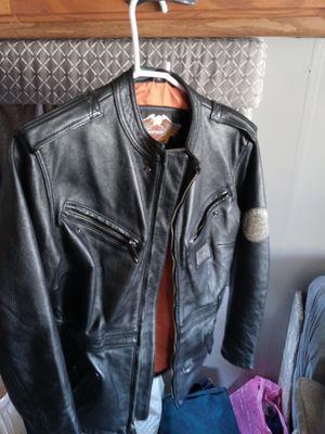 Ladys Harley-Davidson genuine leather biker jacket (size small) for Sale in Surprise, AZ