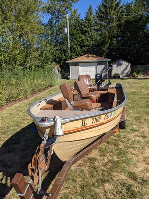 1984 Mirror Craft Northport Troller for Sale in Glendale Heights, IL