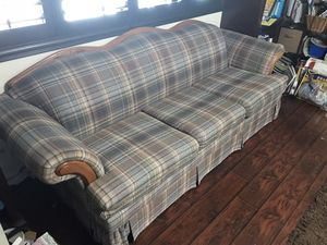 "8ft x 3ft couch ""Excellent"" condition for Sale in Hemet, CA"