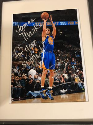 Authentic Autographed Picture Signed By Stephen Curry for Sale in Saint Joseph, MO