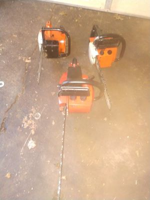 3 chain saws for Sale in Warren, OH