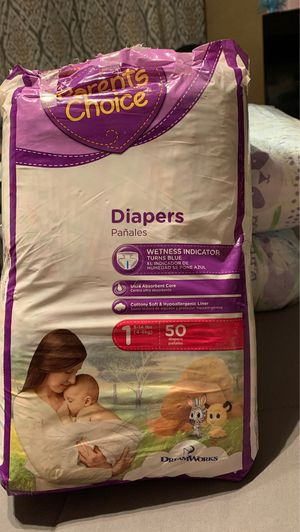 Size 1 diapers for Sale in Chandler, AZ