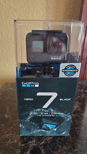 camera GoPro Hero 7 Black Action with memory 64 GB 4K Brand new for Sale in Fairfield, CA
