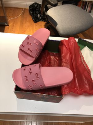 Women Gucci slides size 9 USA for Sale in Silver Spring, MD