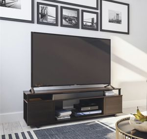"""BRAND NEW Ameriwood Home Carson TV Stand for TVs up to 65"""", Espresso for Sale in Los Angeles, CA"""