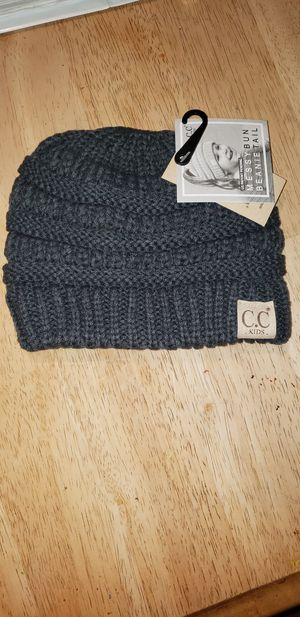 CC Kids Messy Bun Beanie for Sale in Rockland, MA