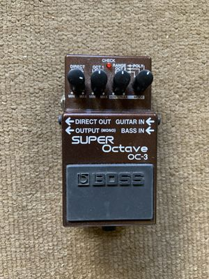 Boss Super Octave OC-3 Electric Guitar Pedal for Sale in Boca Raton, FL