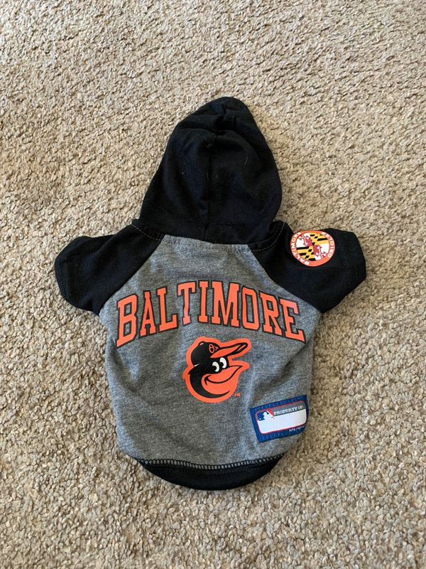 Baltimore Orioles shirt for dog - size XS