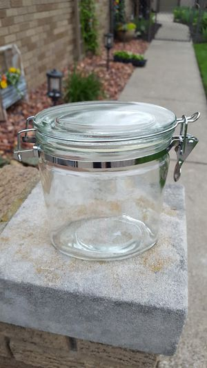 Glass lid storage container for Sale in Allen Park, MI