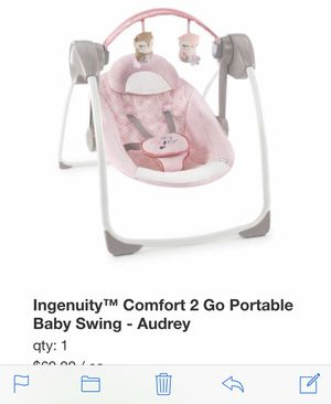 Ingenuity baby swing for Sale in Fort Worth, TX