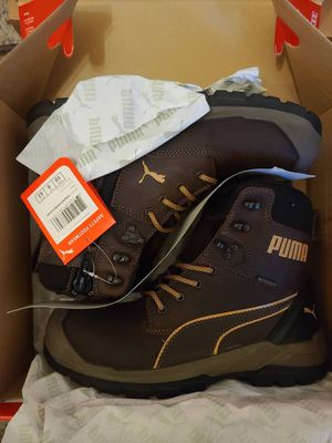 Puma Safety Men's Conquest CTX Waterproof Side Zip Composite Work Boot Size 9 and 10 for Sale in Los Angeles, CA