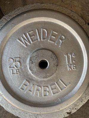 Standard Weight Single Plate (25lb) for Sale in San Bernardino, CA