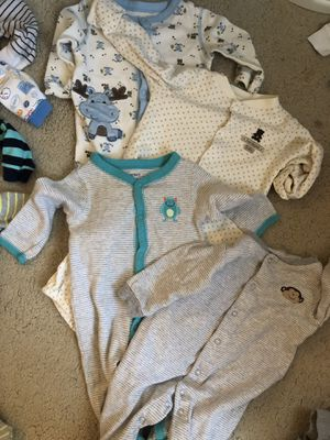 Baby Boy Clothes- Newborn- 6 months for Sale in Washington, DC