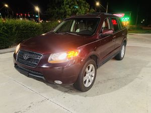 2007 Hyundai Santa Fe limited for Sale in Zephyrhills, FL